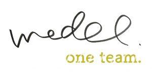 キャットシッターmedel(メデル)one teamロゴ