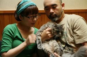 S様ご夫婦と猫ちゃん